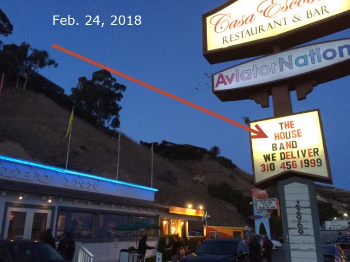 Casa Escobar sign 2.24.18